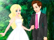 Свадьба на лесной полянке