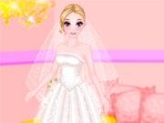 Гламурный свадебный наряд