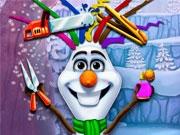 Новый стиль снеговика Олафа