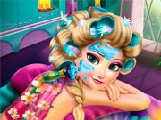 Эльза в курортном спа-салоне
