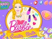 Пасхальный маникюр Барби