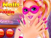 Ногти супер Барби