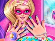 Новые ногти для Барби