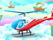 Помой вертолет