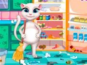 Грязный холодильник беременной Анжелы