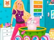 Барби в салоне красоты для животных