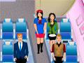 Обслуживание пассажиров самолета