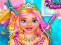 Королевская прическа принцессы