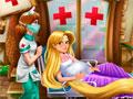 Рапунцель в госпитале
