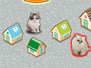 Построй деревню для кошек