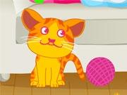 Котенок-безобразник