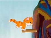 Прыжки котят через пропасть
