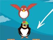 Подними пингвина в небо