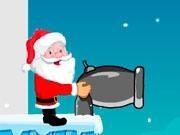 Санта с пушкой