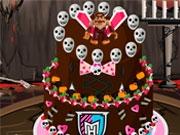 Вкусный торт Монстр Хай