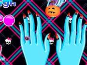 Красивые ногти Дракулауры