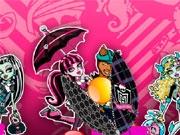 Разноцветные шарики с Монстр Хай
