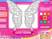 Крылья феи для Барби