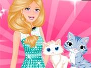 Новый котенок Барби