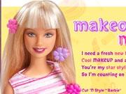 Фантастический макияж Барби