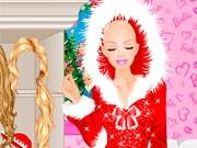 Красивая снегурочка из Барби