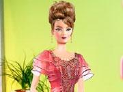 Одень Барби на день Рождения