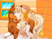 Деревенская лошадь Барби