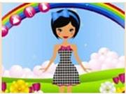 Играем с Барби под радугой