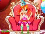 Блум в кресле королевы
