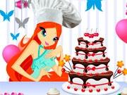 Сделай торт вместе с Блум