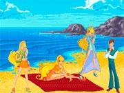 Сцена на пляже