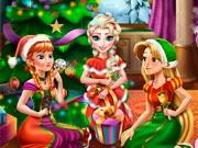 Диснеевские принцессы на Рождество