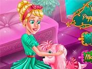 Принцесса ухаживает за питомцем