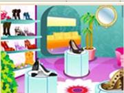 Модный обувной магазин