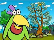 Тропическая птичка манго