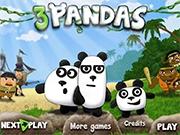 Три хитрые панды