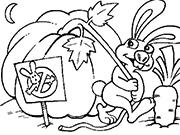 Заяц-воришка
