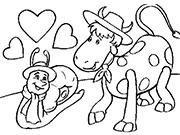 Дружба улитки и коровы