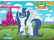 Большая модница пони