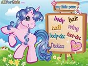 Образ маленькой пони